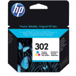 HP 302 Original 3 Colours Ink Cartridge F6U65AE