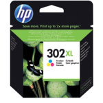 HP 302XL Original 3 Colours Ink Cartridge F6U67AE