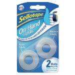 Sellotape Tape On hand Transparent