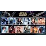 Royal Mail AS55BS 1st Class Star Wars Character Stamps 12 Pack