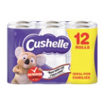 Cushelle Toilet Roll Comfort White Pack 12