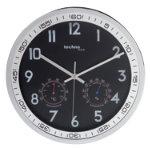 Technoline Wall Clock WT7981 Black