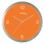 Technoline Wall Clock WT9000 Orange
