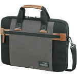 Samsonite Shoulder Bag Sideways 156 inch Black Grey