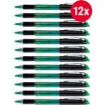 Foray Comfort Point Needlepoint Stick Pen 03 mm Green Pack 12