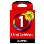 Lexmark 1 Cyan Magenta Yellow Printer Ink Cartridge 80D2955