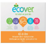 Ecover Diswasher Tablets All In One 70 Tablets