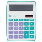 Foray Desk Display Calculator Generations Blue