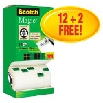 Scotch 14 Rolls Magic Tape Each
