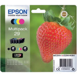 Epson 29 Original Ink Cartridge C13T29864012 Black Cyan Magenta Yellow Pack 4