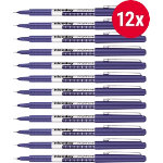 Niceday NSXF04 Needlepoint Pen Blue Pack 12
