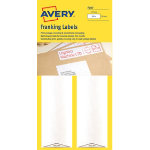 Avery Franking Labels 3430 White 39 x 157 cm 500 Labels per pack