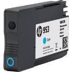 HP F6U12AE Original Cyan Ink Cartridge