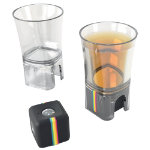 Polaroid Camera Mount Shot Glass Transparent
