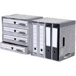 Fellowes R Kive bankers box system file store 4 shelf