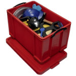 Really Useful Box Multi Usage Box Red 84Ltrs