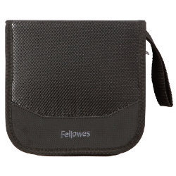 Fellowes Nylon CD DVD Wallet 32 Capacity
