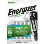 Energizer Batteries Recharge Extreme AAA Pack 4