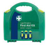 Green First Aid Kit For Workplace Large Aura Box