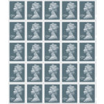 Royal Mail D200 Postage Stamps 25 Pack