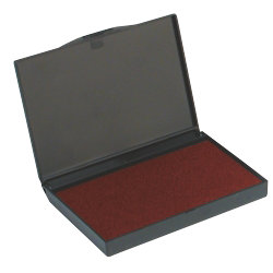 Large Stamp Pad 160 x 90mm Red