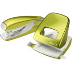 Leitz Stapler and Holepunch Bundle Deal 24 6 26 6 Green