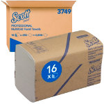 Scott Hand Towels Multifold 1 ply Pack 16
