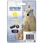 Epson 26XL Original Ink Cartridge C13T26344012 Yellow Pack