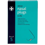 Nasal Plugs Relistat Box 5