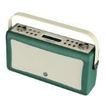 View Quest Portable DAB FM Radio with Bluetooth Hepburn MKII Emerald Green