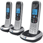 BT Dect Phone BT2200 Trio Silver Black