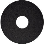 FLOOR MAINTENANCE PADS DRY OR SPRAY BUFFING 17 BLACK PACK OF 5