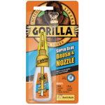 Gorilla Superglue Brush and Nozzle 12 g
