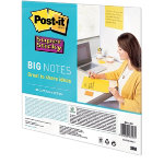 Post it Big Notes Super Sticky Yellow 279 x 279 cm