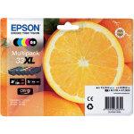 Epson 33XL Original Ink Cartridge C13T33574011 Black 3 Colours