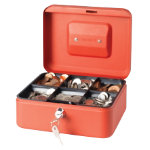 Niceday Cash Box Red 200 x 90 x 160 mm