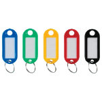 Niceday Standard Key Tags Pack of 50 21 x 50 x 2mm