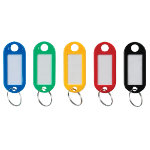 Niceday Standard Key Tags Pack of 100 22 x 50 x 2mm