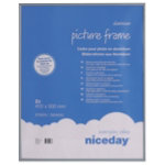 Niceday Aluminium Frame Grey 500H x 400Wmm 2 Per Pack