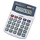 Office Depot AT711 Desktop Calculator 10 Digit Battery Solar Powered 160x115x40mm