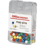Office Depot Map Tacks 13mm 100 bx