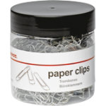 Office Depot Large Plain Paper Clips 33mm 500 tub