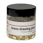 Office Depot Drawing Pins 11mm 750 tub
