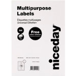 Niceday Laser Labels 991 x 339mm 16 Labels Per Sheet 100 Sheets Per Box