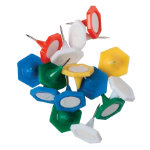 Office Depot Multi Coloured Indicator Pins 160 tub