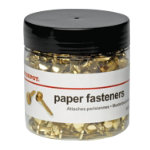 Office Depot Paper Fasteners 25mm 500 tub