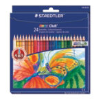 Staedtler Noris Club Coloured Pencils 24 pack
