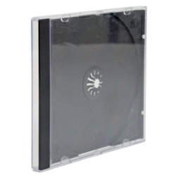 Fellowes Single Capacity CD Jewel Cases 5Pk
