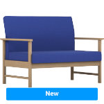 Pledge Reception Armchair Easy Blue