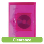 Office Depot Cd Document Wallets 335 x 235mm Pink